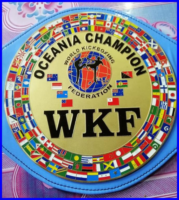 wkf-oceania-title-belt