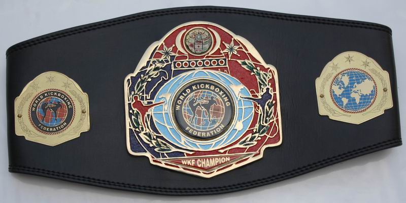 wkf-continental-champion-belt